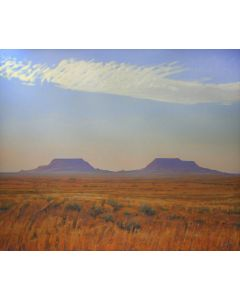 Glenn Renell - Twin Buttes, Petrified Forest