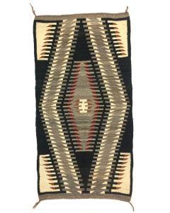 """Navajo Ganado Rug c. 1930s, 59"""" x 30.5"""" (T4081)"""