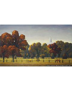 Howard Post - A View From Parley's Street (Giclee)