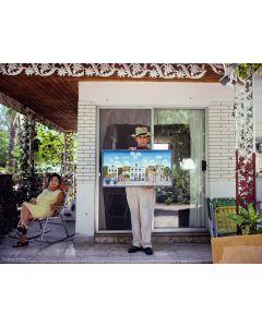 Nathan Benn - Artist's Vision of Paradise, Key West, Florida, 1981
