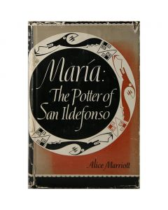 Maria: The Potter of San Ildefonso by Alice Marriott, 1948 (B1002)
