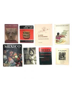 Collection of Mexican History and Folk Art Books
