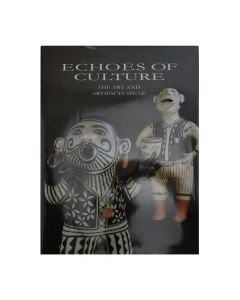 """Echoes of Culture - The Art and Artifacts Speak, 12.5"""" x 9.5"""" x 0.75"""" (B1676)"""
