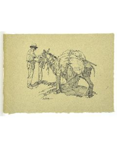 Clark Hulings - A Gallery of Paintings - Includes an original drawing by the artist