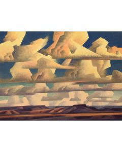 Ed Mell - Band of Clouds (Giclee)