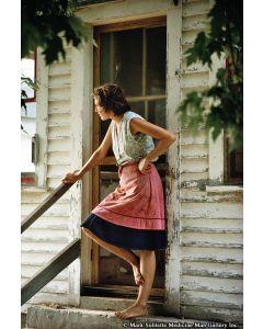 Nathan Benn - Woman at Kitchen Door, New Haven, Vermont, 1973