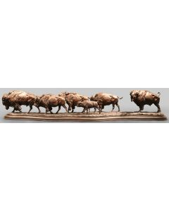 SOLD Richard Loffler - The Buffalo Trail