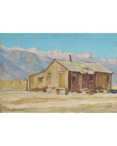 Maynard Dixon (1875-1946) - SOLD - Chong Louis Ranch, Reeler, California
