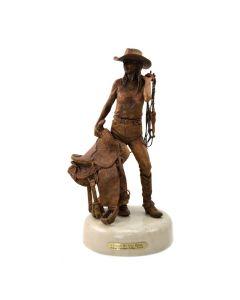 Deborah Copenhaver-Fellows - I Saddle My Own Horse (Maquette)