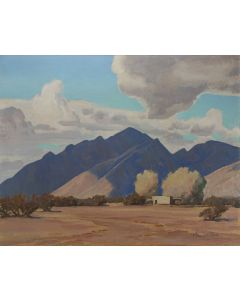 Maynard Dixon (1875-1946) - Drifting Shadows
