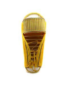 "Apache Cradleboard c. 1960s, 35"" x 14"" x 12"" (DW91023-064-007) 1"