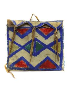 "Plains Parfleche Bag c. Turn of the 20th Century, 6.5"" x 7.5"" (DW91068-0213-001) 1"