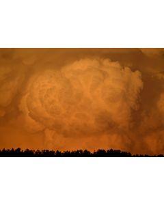Mark Sublette - Exploding Cloud Santa Fe N.M.