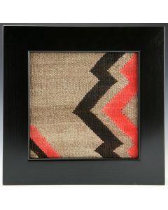 SOLD Kevin Irvin - Antique Navajo Textile Window #3