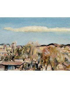 SOLD Jospeh Fleck (1892-1977) - New Mexico Landscape