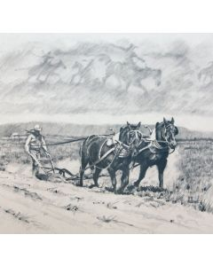Fred Fellows - Breaking Out the Flatland (Lithograph)