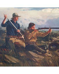 Fred Fellows - The Buffalo Hunters (Lithograph)