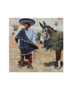 Fred Fellows - Gatherers of Bear Grass (Giclee Print on Canvas)