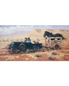 Fred Fellows - Life in the Fast Lane (Lithograph)