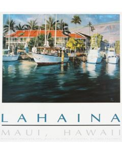 Fred Fellows, CAA - Pioneer Inn, Maui, Hawaii (Lithograph)
