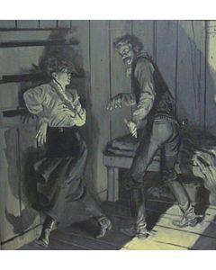 SOLD Harol von Schmidt (1893-1982) - Untitled Illustration