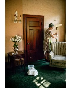 Nathan Benn - Housekeeper at Rectory II, Winona, Minnesota, 1976