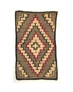 """Navajo Ganado Rug, c. 1930, 72"""" x 42.5"""""""