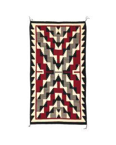 """Navajo Ganado Rug, c. 1950, 90"""" x 52"""""""