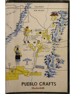 Pueblo Crafts by Ruth Underhill