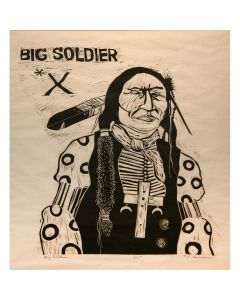 SOLD T. C. Cannon (1946-1978) - Big Soldier
