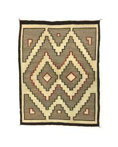 """Navajo Ganado Rug c. 1930, 53"""" x 40"""""""