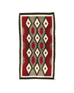 """Navajo Ganado Rug c. 1930 64.5"""" x 34"""""""