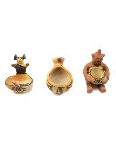 Set of 3 Hopi Figurative Effigies