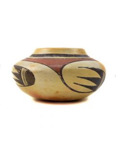 Attributed to Garnet Pavatea - Hopi Polychrome Jar