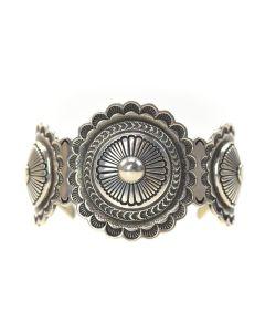 Ron Bedonie - Navajo Sterling Silver Bracelet
