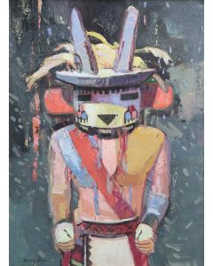 SOLD Francis Livingston - Kachina in Paint