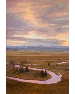 SOLD Jeff Aeling - Sunset Buffalo Peaks, CO
