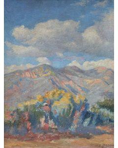SOLD Henry Balink (1882-1963) - Taos Mountains