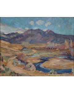 SOLD Charles Berninghaus (1905-1988) - New Mexico Landscape