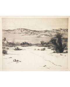 SOLD Cornelius Botke (1887-1954) - The Desert