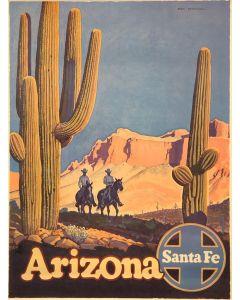 SOLD Don Perceval (1908-1979) - Arizona Santa Fe Railroad Poster