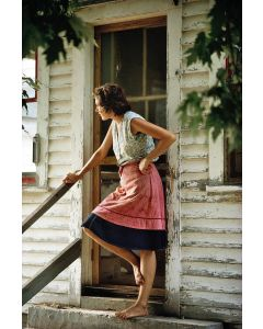 SOLD OUT SIZE - Nathan Benn - Woman at Kitchen Door, New Haven, Vermont, 1973, 15x22
