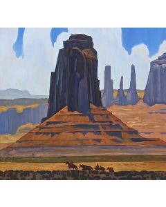 SOLD Dennis Ziemienski - Monument Valley