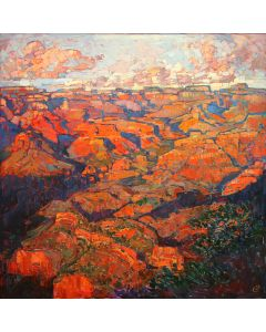 SOLD Erin Hanson - Grand Canyon in Orange