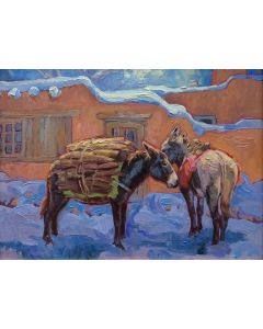 SOLD - Sue Rother - Snowy Day
