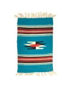 "Chimayo Sampler c. 1950, 17.5"" x 9.5"""