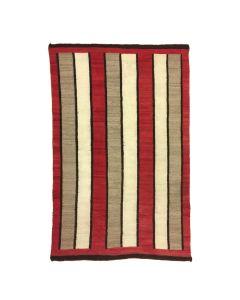 """Navajo Ganado Rug c. 1920, 69"""" x 45"""""""