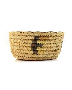 "Tohono O'odham Basket c. 1960, 2"" x 4"""