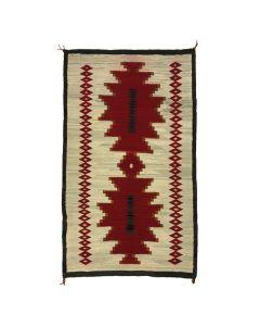"Navajo Klagetoh Rug c. 1910-20, 63"" x 38"""