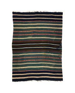 """Rio Grande Revival Chimayo Blanket c. 1930, 79"""" x 54"""""""